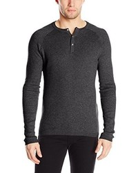 Vince Camuto Thermal Henley Sweater