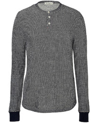 Oliver Spencer Cotton Blend Henley