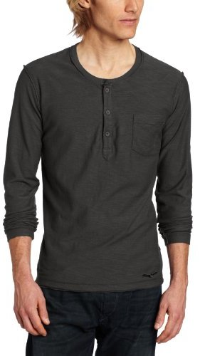 Diesel t canopy rs henley shirt where to buy how to wear for Kim kardashian henley shirt