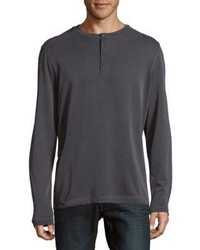 Saks Fifth Avenue Pullover Henley Top