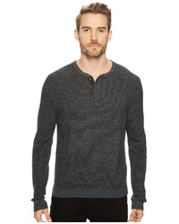 Lucky Brand Stitch Henley Sweater Sweater