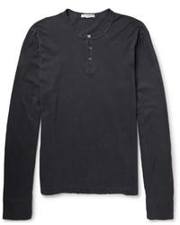 James Perse Supima Cotton Henley T Shirt