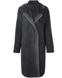 Avant toi dyed herringbone coat medium 796677