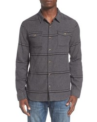 O'Neill Ashland Herringbone Stripe Flannel Shirt