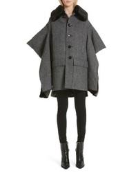 Junya Watanabe Faux Split Sleeve Wool Coat