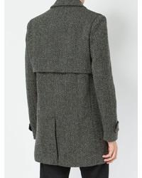 Saint Laurent Herringbone Coat
