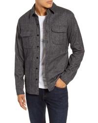 Bonobos Mouline Herringbone Shirt Jacket