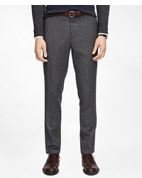Brooks Brothers Herringbone Suit Trousers