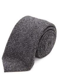 The gable wool herringbone tie medium 743026