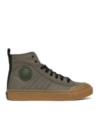 Diesel Green S Astico Sneakers