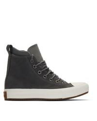 Converse Grey Chuck Taylor Waterproof Boot Sneaker