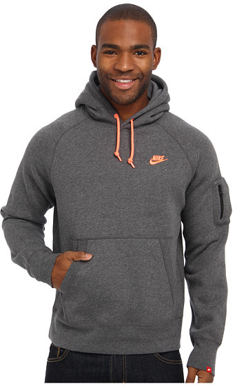 la meilleure attitude b009c c5c2e $55, Nike Aw77 Fleece Pullover Hoodie