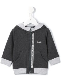 Boss Kids Logo Zip Hoody