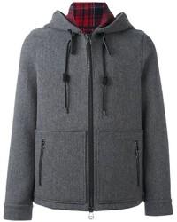 Casual zipped hooded jacket medium 787374