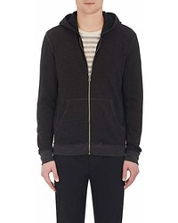 ATM Anthony Thomas Melillo French Terry Zip Front Hoodie