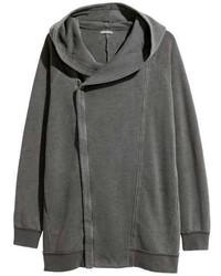 H&M Hooded Sweatshirt Cardigan