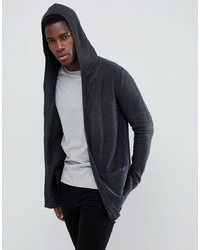 Esprit Longline Drape Cardigan With Hood