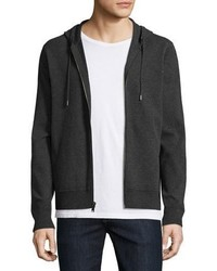 Michl kors tech zip front hoodie charcoal medium 962391