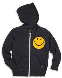 Aviator Nation Toddlers Little Boys Boys Smiley Applique Hoodie