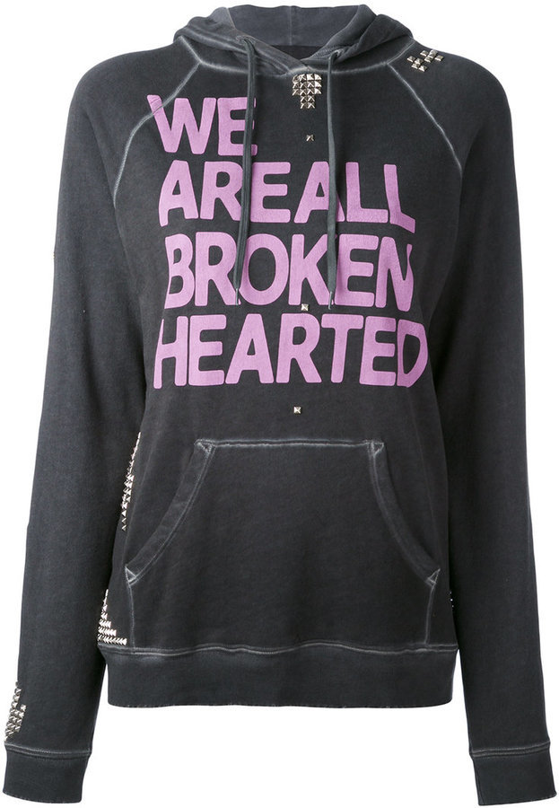 Freecity We Are All Broken Hearted Hoodie