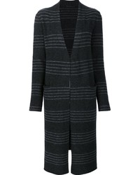 Jenni kayne striped cardi coat medium 830545