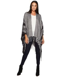 Stripe poncho coat medium 5260735