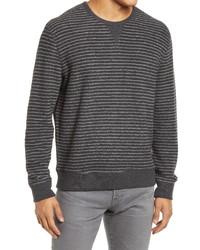 Rails Heston Reversible Stripe Crewneck Sweater