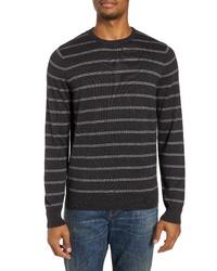 Nordstrom Men's Shop Regular Fit Stripe Cotton Cashmere Sweater
