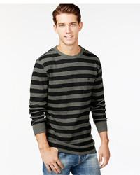 Volcom Royceeo Stripe Thermal Long Sleeve T Shirt