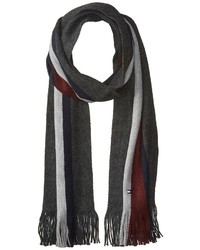 Tommy Hilfiger Center Oversized Global Stripe Scarf Scarves