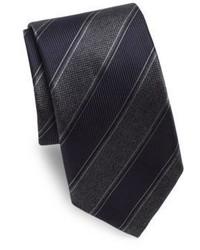 Canali Bold Stripe Silk Tie
