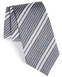 Burberry Clinton Stripe Silk Tie