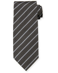 Tom Ford Neat Diagonal Stripe Silk Tie