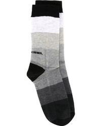 Diesel Striped Socks
