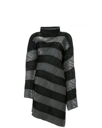Issey Miyake Vintage Iridescent Diagonal Striped Dress