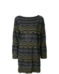 Antonio Marras Striped Jumper Dress