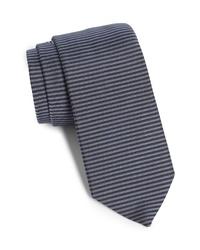 title of work Stripe Silk Tie