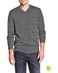 Banana Republic Factory Wide Stripe Merino Sweater
