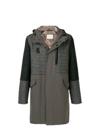 Etro Houndstooth Parka Coat