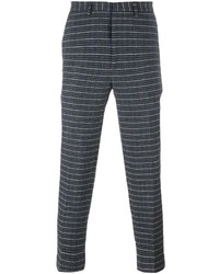 MSGM Houndstooth Cropped Joggers