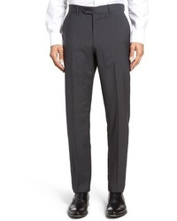 John W Nordstrom Flat Front Houndstooth Wool Trousers