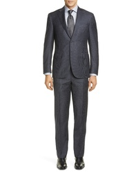 Canali Sienna Soft Houndstooth Wool Suit
