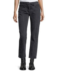 The Row Ashland Cropped Straight Leg Jeans