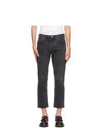 Levis Black 501 93 Straight Jeans