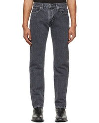 Levi's Made & Crafted Black 502 Taper Jeans