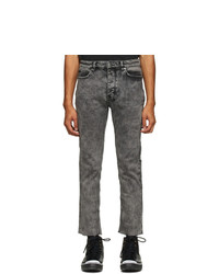 Ksubi Black Chitch Chop Acid Jeans