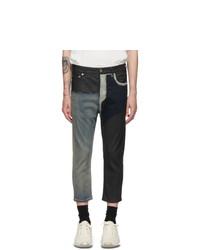 Rick Owens Black Cropped Jeans