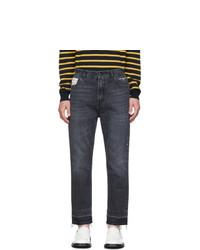 Stella McCartney Black Raw Hem Denzel Jeans