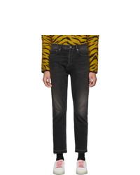 Saint Laurent Black Straight Fit Jeans