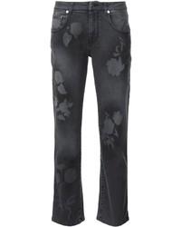 Christopher Kane Leaf Stencil Jeans